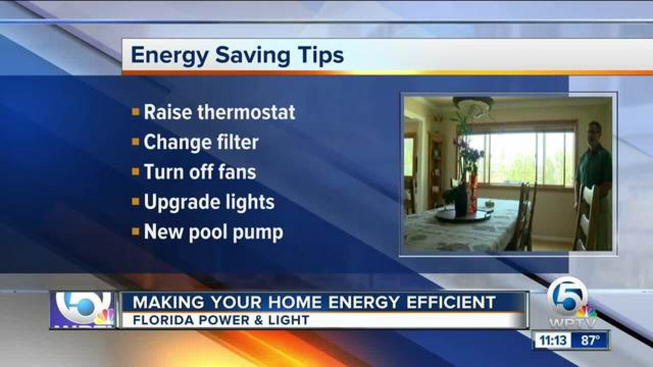 Make your home energy efficient for the summer