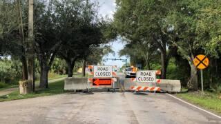 SE Bridge Road Hobe Sound closed