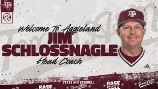 Jim Scholssnagle - Texas A&M Baseball (Twitter)