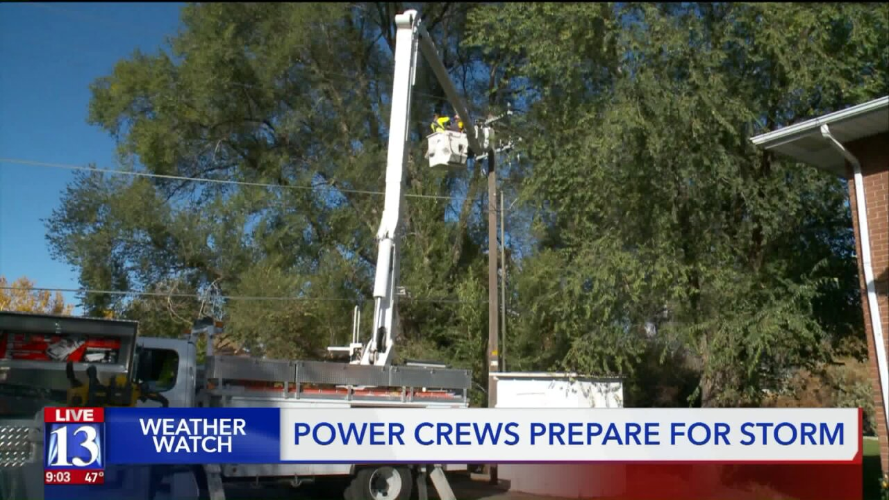 Rocky Mountain Power crews busy as cold weather comes in