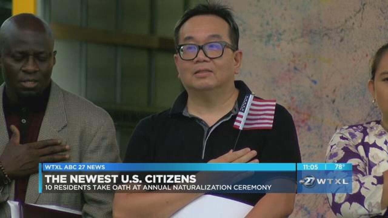 Tallahassee welcomes newest U S  citizens