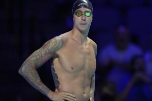 Tony Ervin at U.S. Olympic swimming trials, June 19, 2021