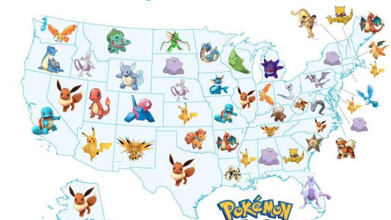 This is the rarest Pokemon in Utah; have you caught one yet?