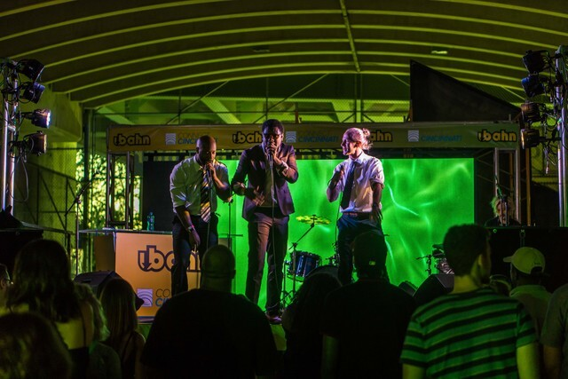 Saturday night at 4th annual Ubahn Festival