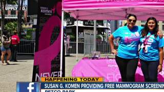 Free mammograms available at Petco Park