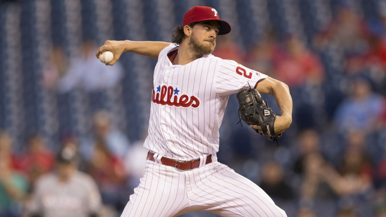 Ace in the making, Aaron Nola has the right stuff