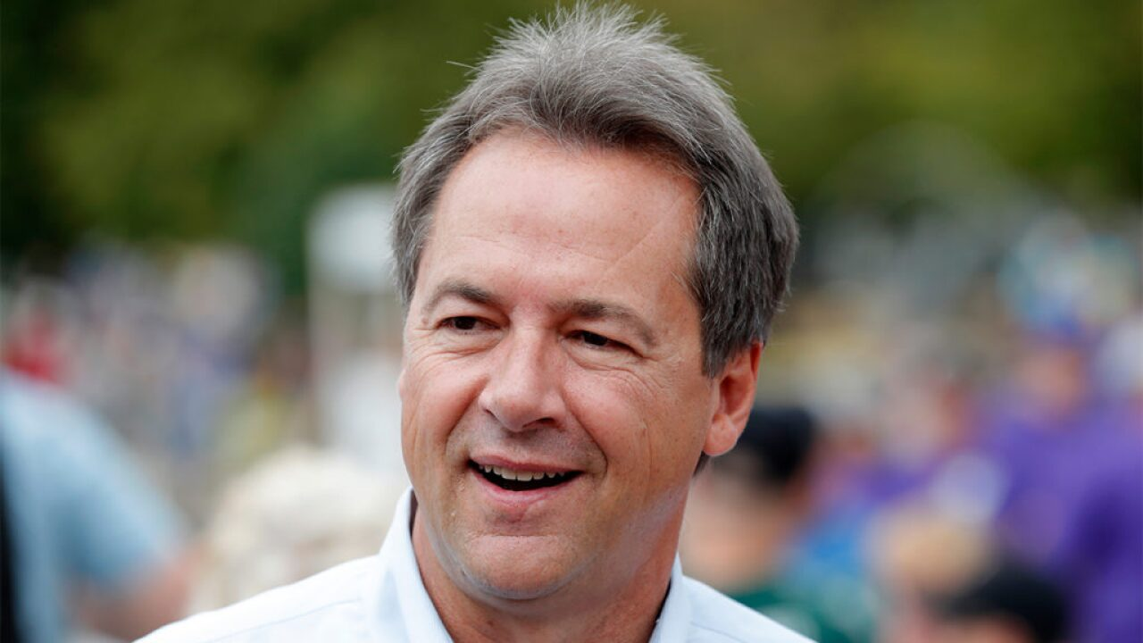 Montana Gov. Steve Bullock announces presidential run