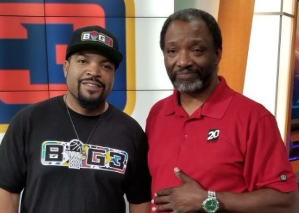 Rick Hayes and Ice Cube
