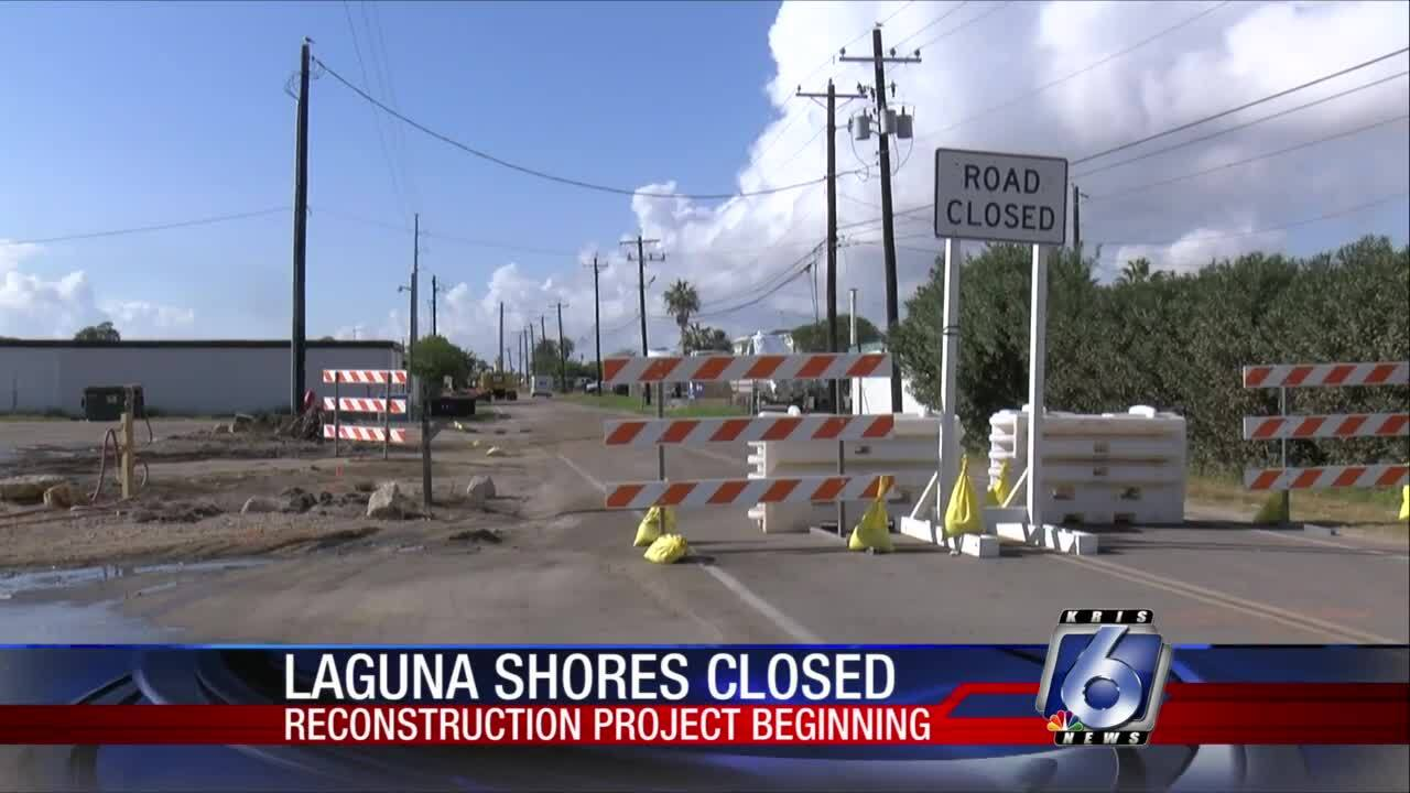 Parts of Laguna Shores are closed