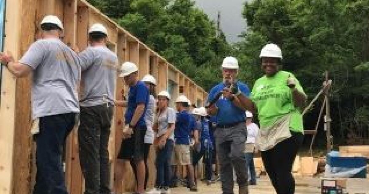 Helping Habitat for Humanity