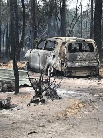 Fires burning in Golden Gate Estates Photos
