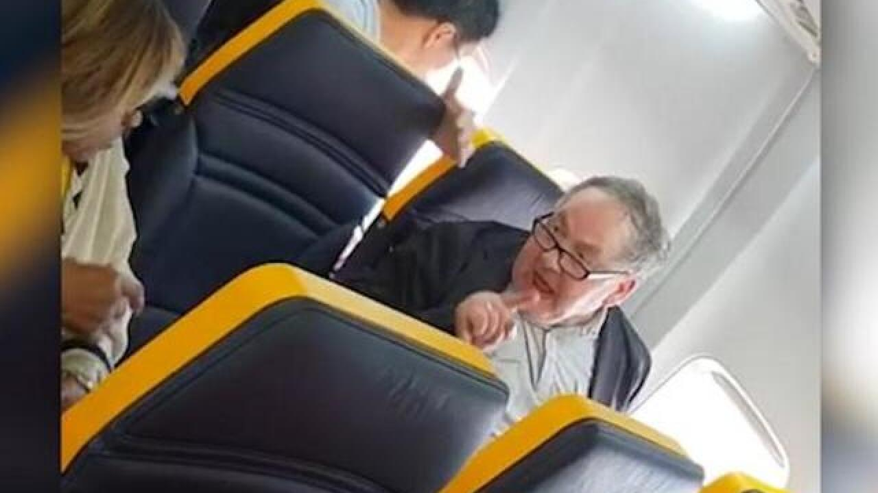 Watch: Man launches into racist rant on Ryanair plane — but keeps his seat