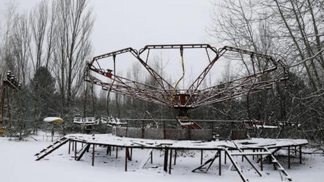 Massive Chernobyl shelter safely put over exploded reactor