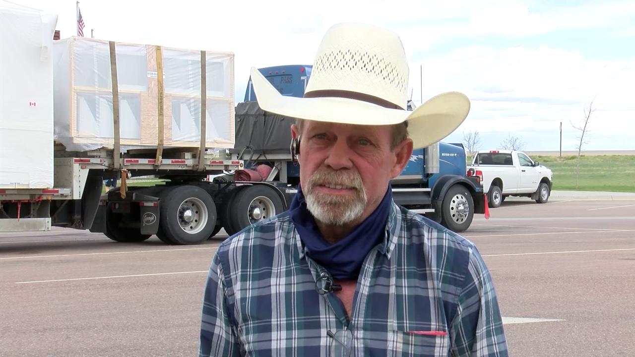 Trucker Tim Smith