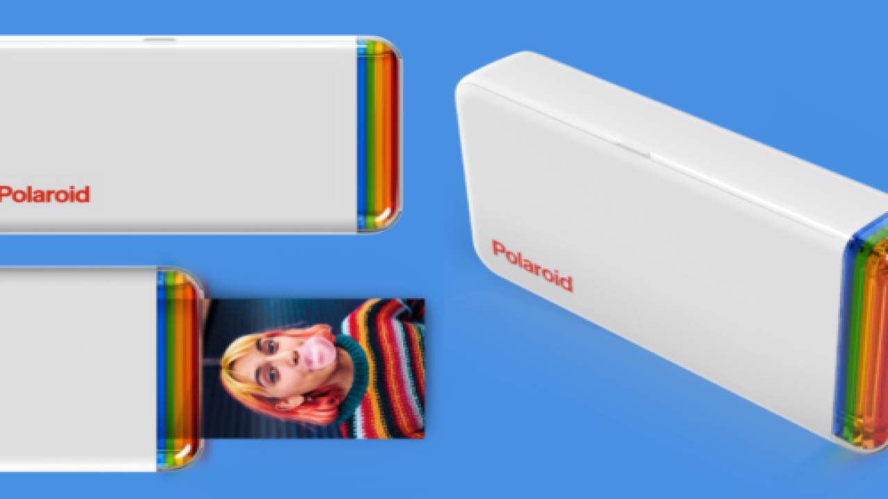Polaroid's New Pocket Printer Turns Your IPhone Photos Into Stickers