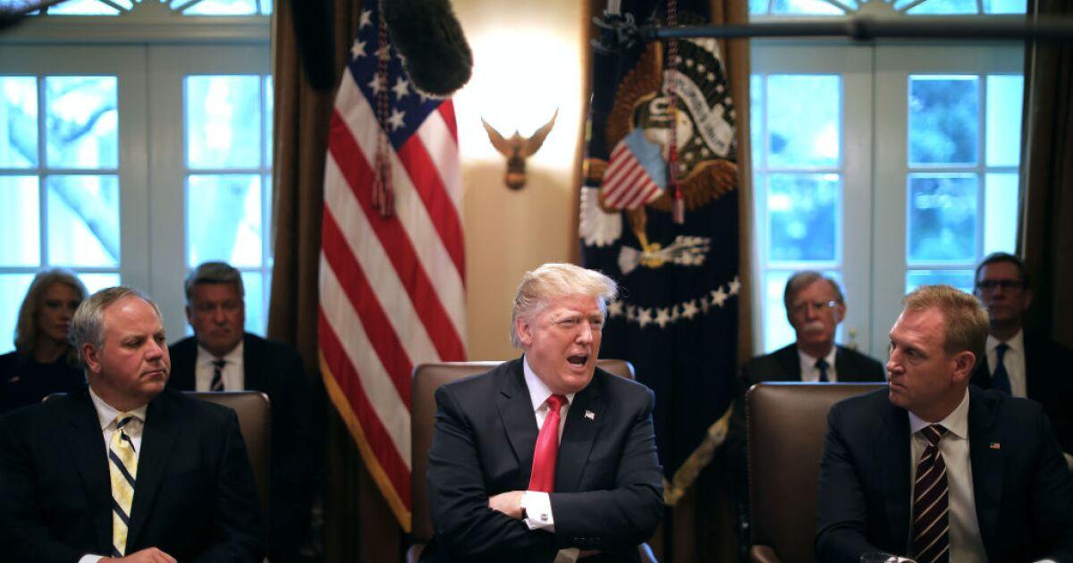 President Trump To Nominate David Bernhardt To Be The New Interior Secretary