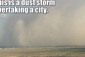 WATCH: Massive dust storm overtakes city