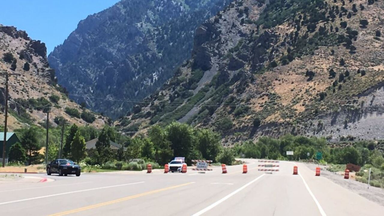 American Fork Canyon open again after human-caused fire promptsclosure