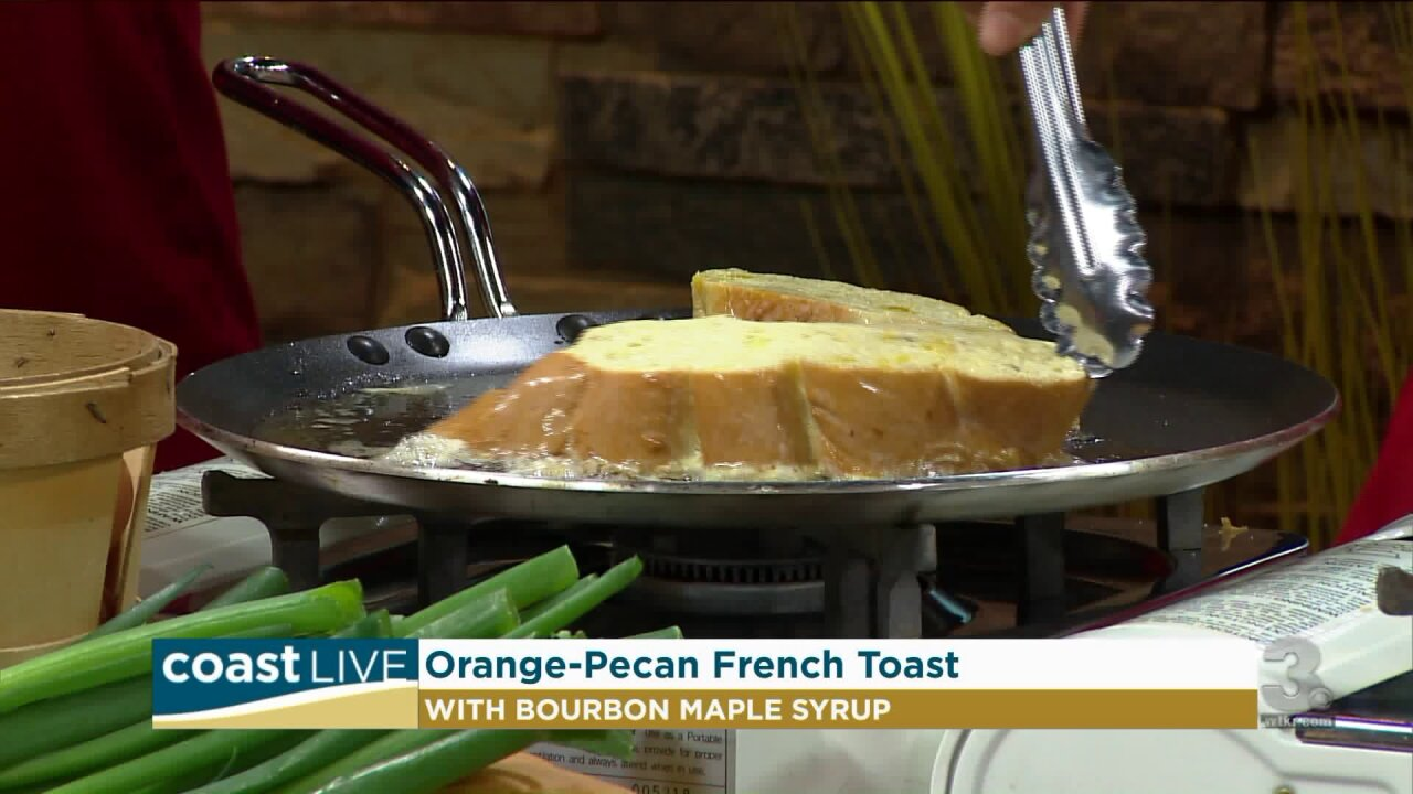 Making a great brunch with Chef Matthew May on Coast Live