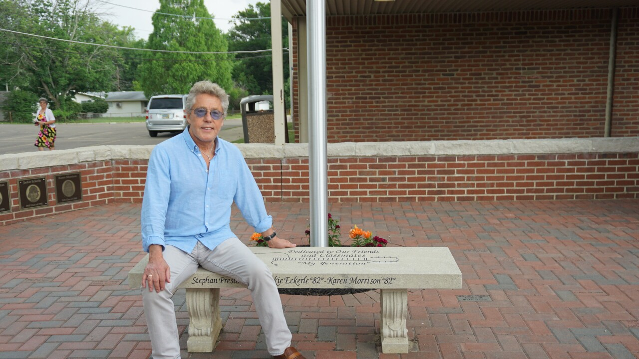 Roger Daltrey at PEM Memorial
