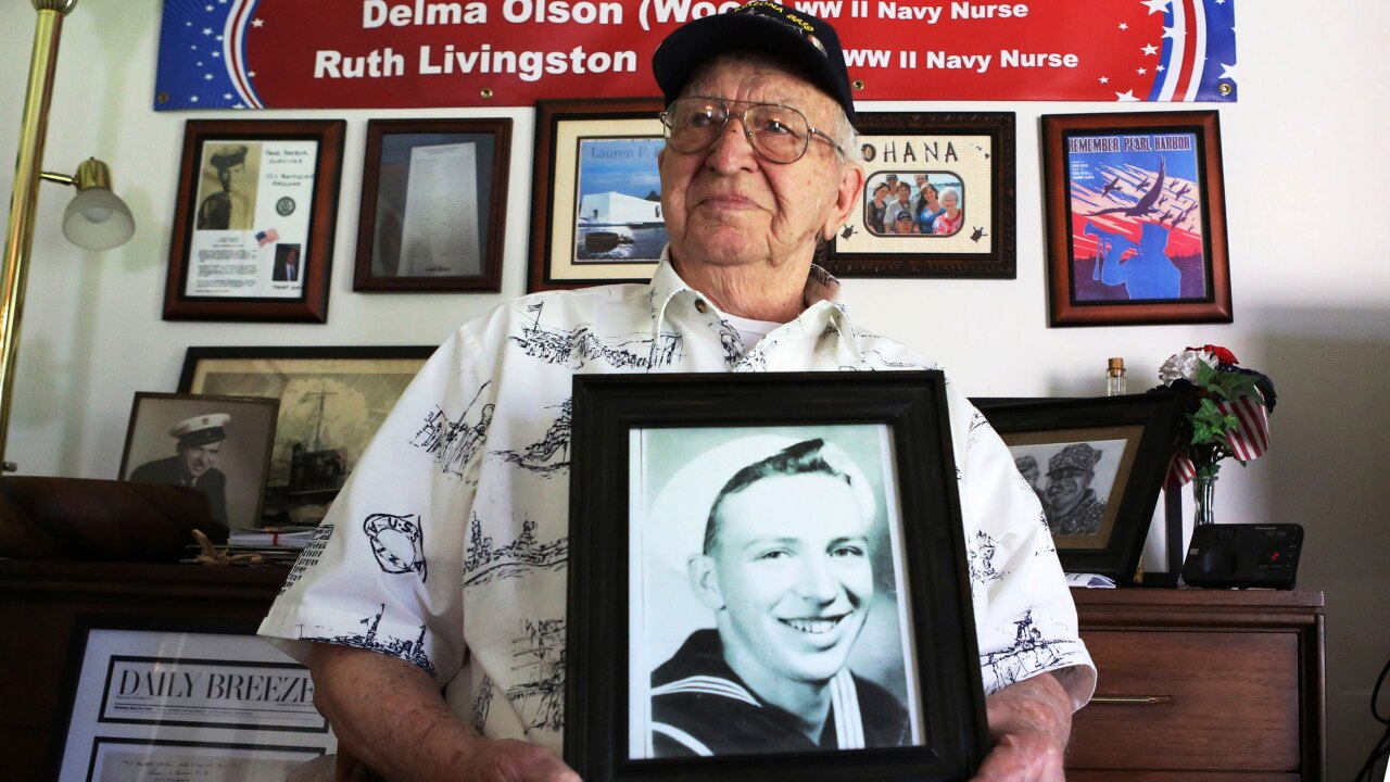Pearl Harbor Attack: One of last survivors of USS Arizona will be interred on sunken warship