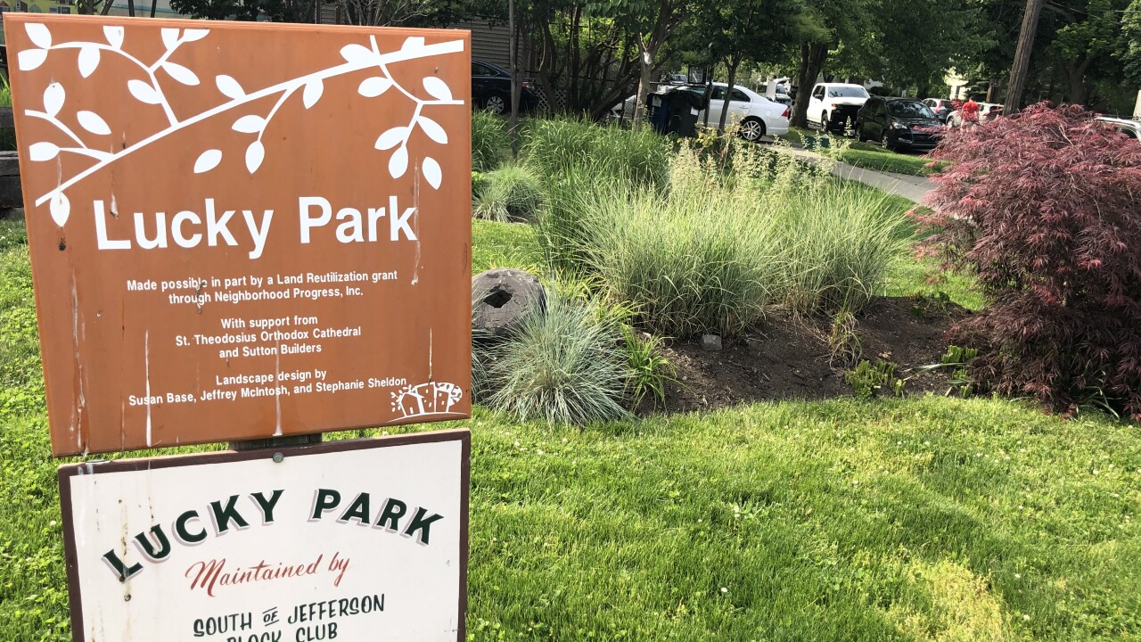 Cleveland Tremont residents rally to save Lucky Park