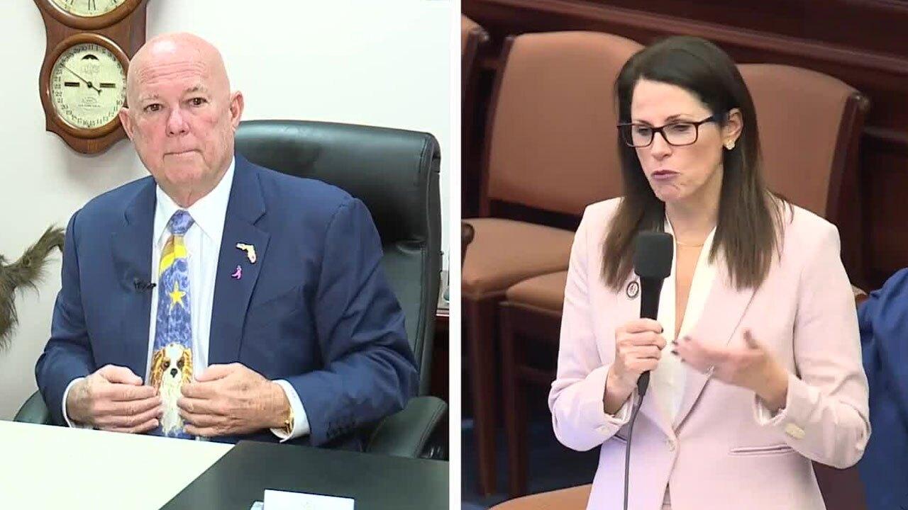 State Rep. Sam Killebrew and State Sen. Tina Polsky