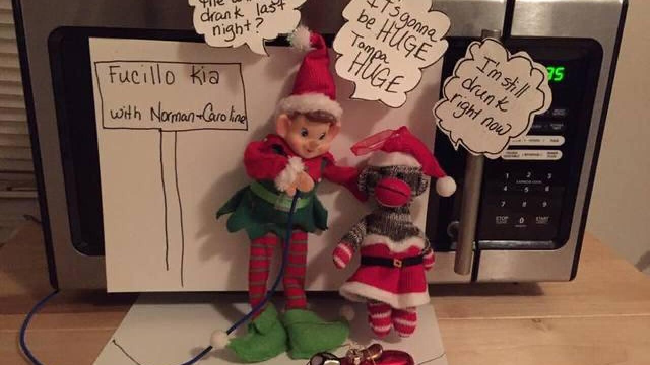 2016 Elf on the Shelf Photos & Ideas