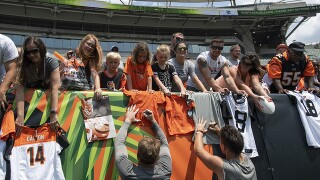 Bengals host Family Day at training camp