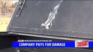 Problem Solved: Business pays for damaged truck repair after nearly two months