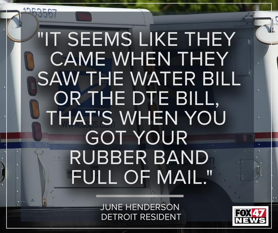 Detroit resident June Henderson