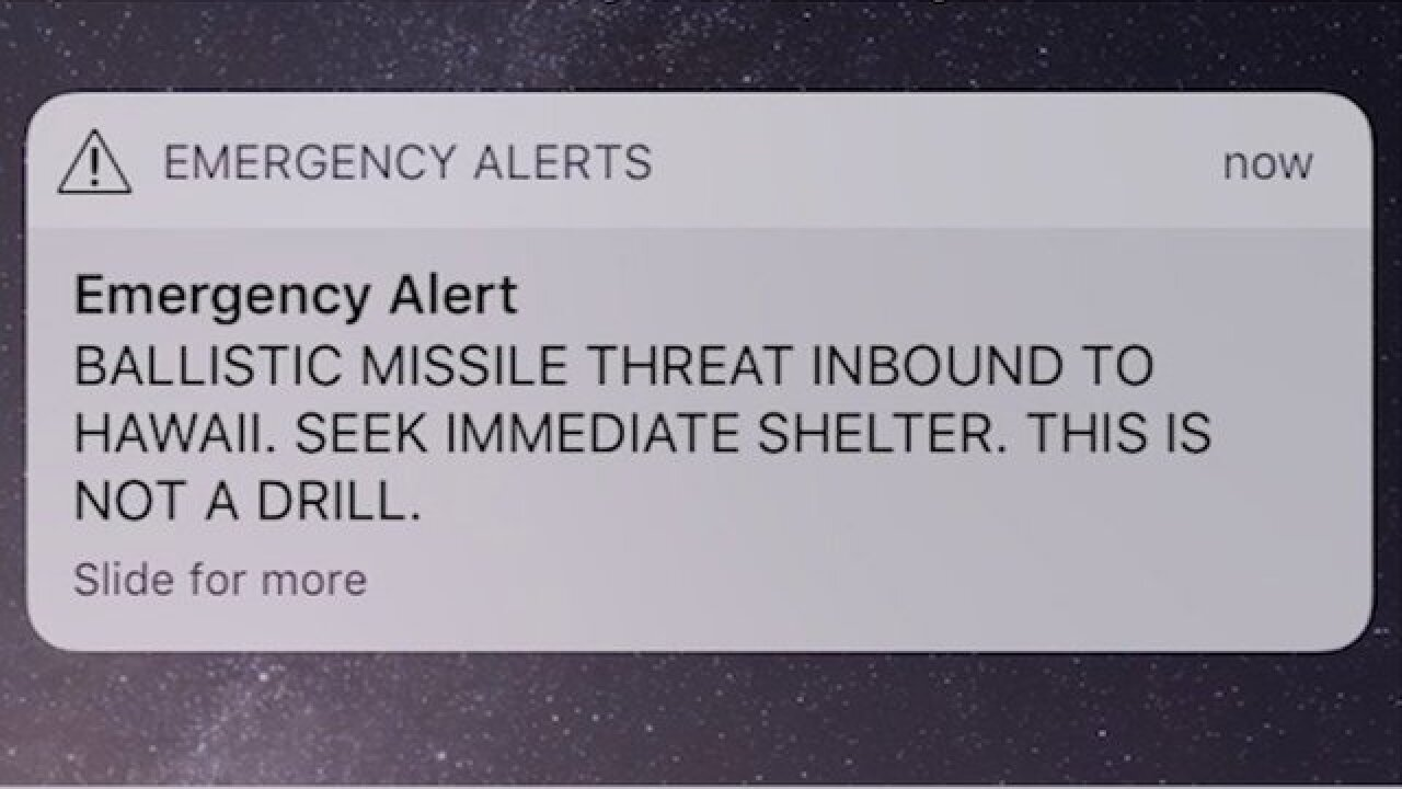 Man sues Hawaii, saying the false missile alert caused his heart attack