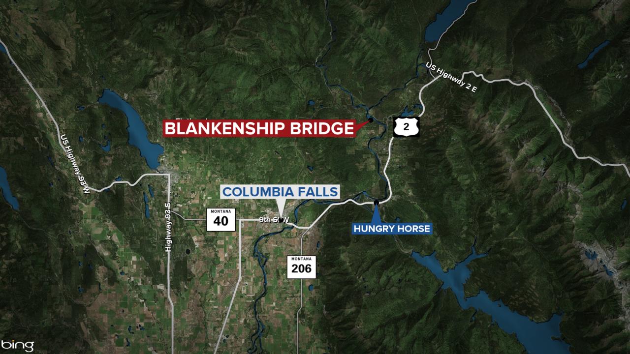 Blankenship Bridge Map