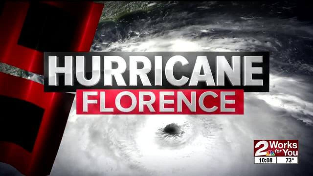 Tulsa team on standby for Florence deployment