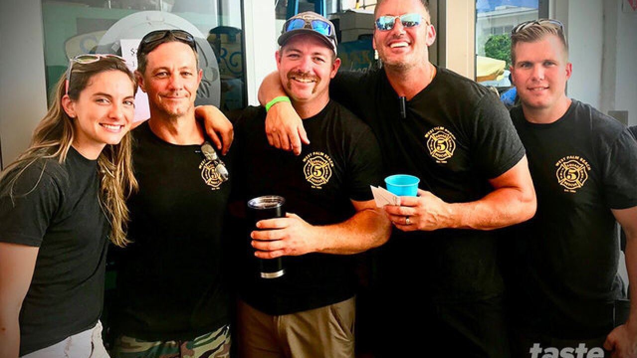 West Palm Beach firefighters compete in best ribs contest at The Butcher Shop