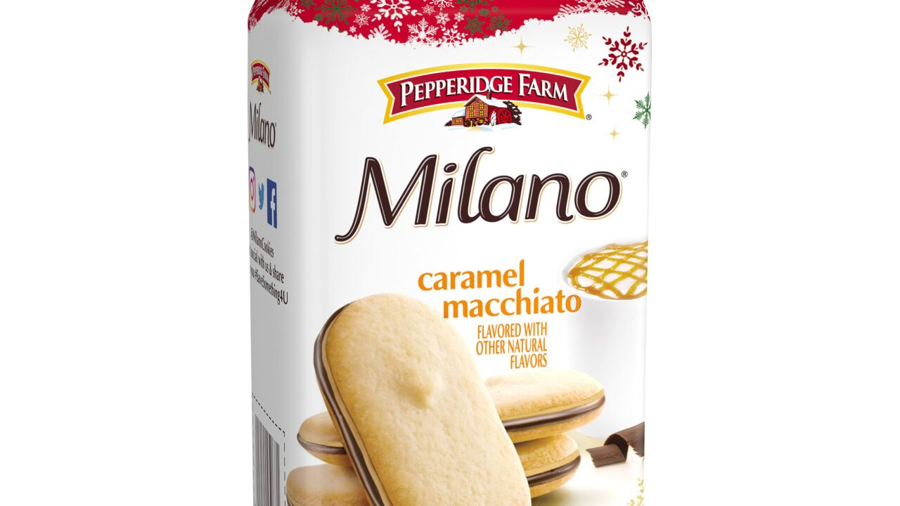 Pepperidge Farm Classic Milano Cookies Release Two New Flavors For Holiday Season