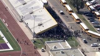 Mesa High School lockdown