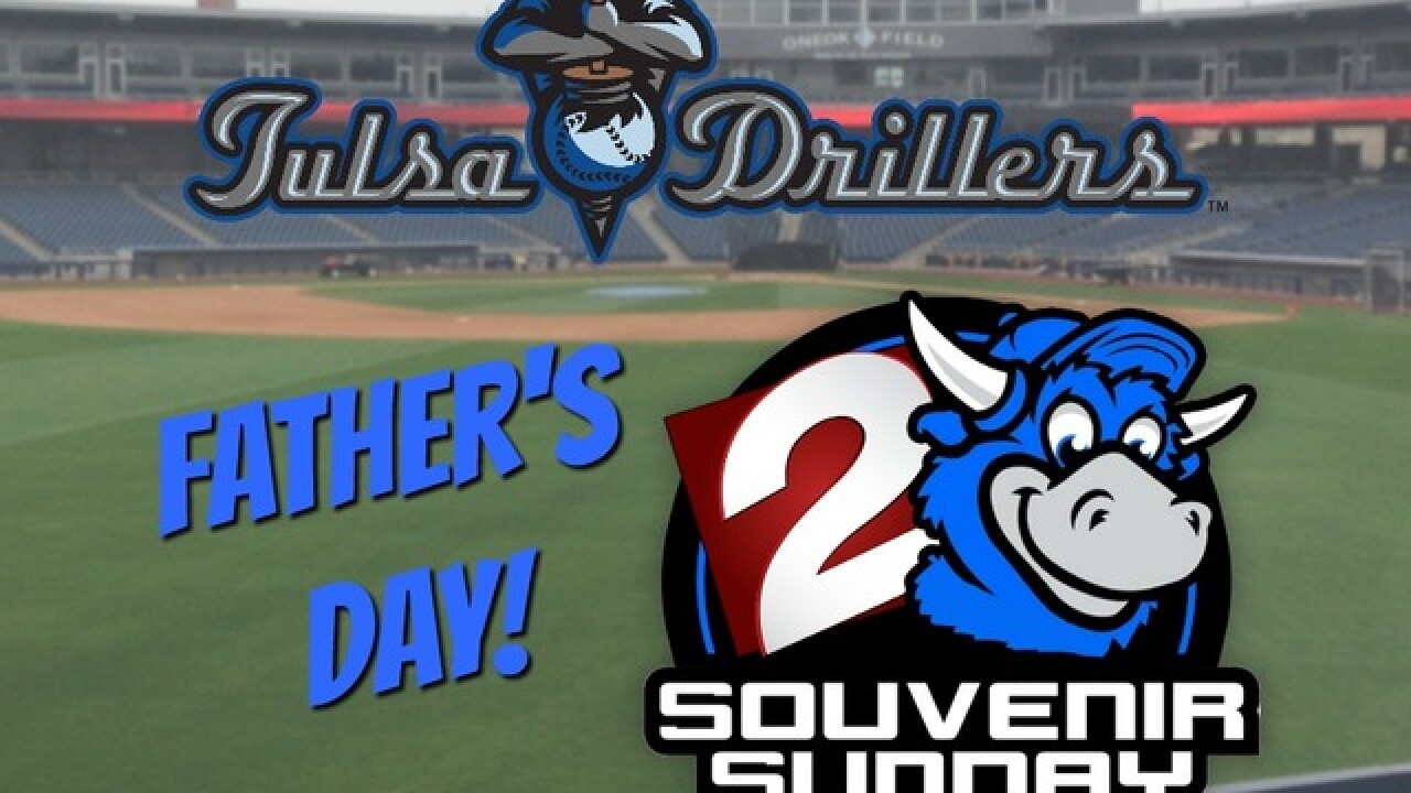 Watch 2 Win: Five winners to receive four tickets to the Tulsa Drillers Father's Day baseball game