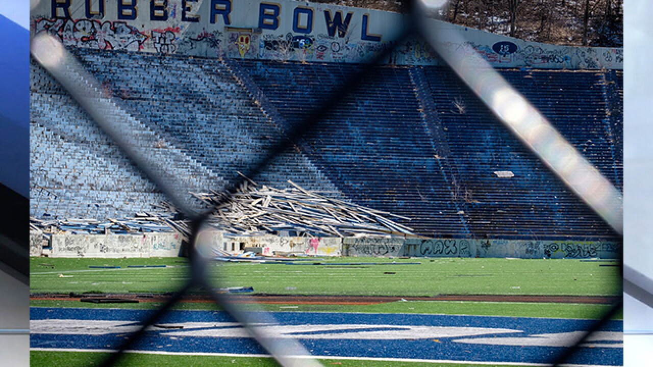 Rubber Bowl Stadium to be demolished