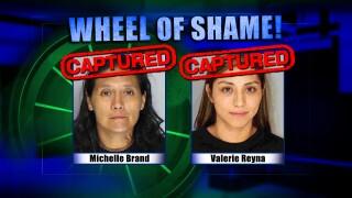 Wheel Of Shame Fugitives Arrested: Michelle Brand and Valerie Reyna