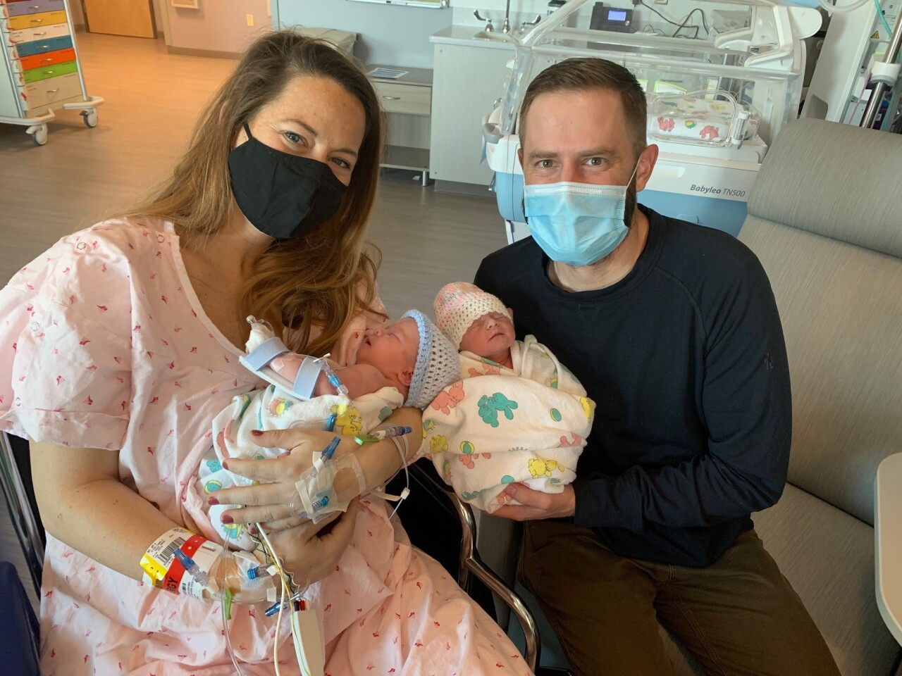 Bozeman mother, Amy May Breitmaier welcomed twins in 2020