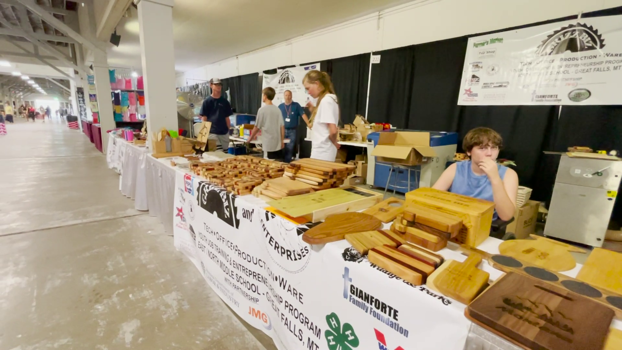 GrizzBiz going strong at Montana State Fair