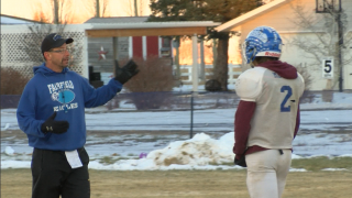Fairfield's Les and Ryder Meyer get one last shot together at Shrine Game