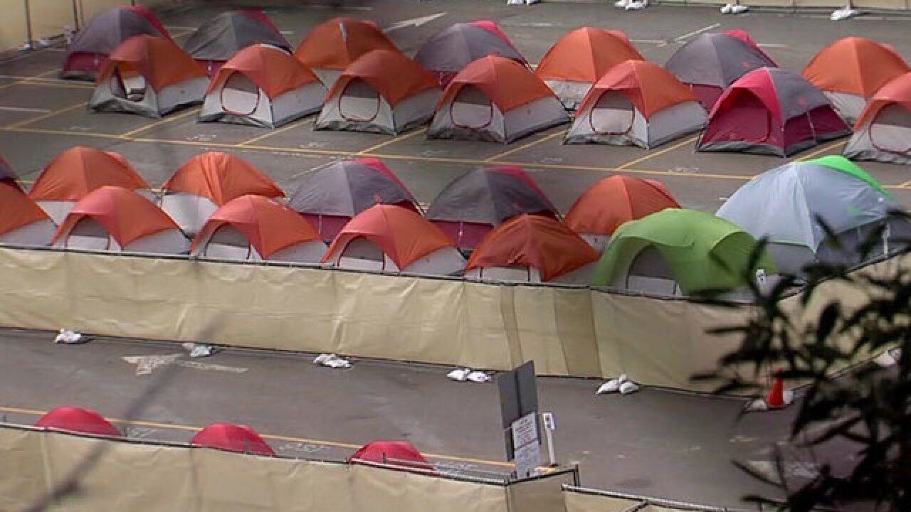 San Diego's new homeless camp area opens today