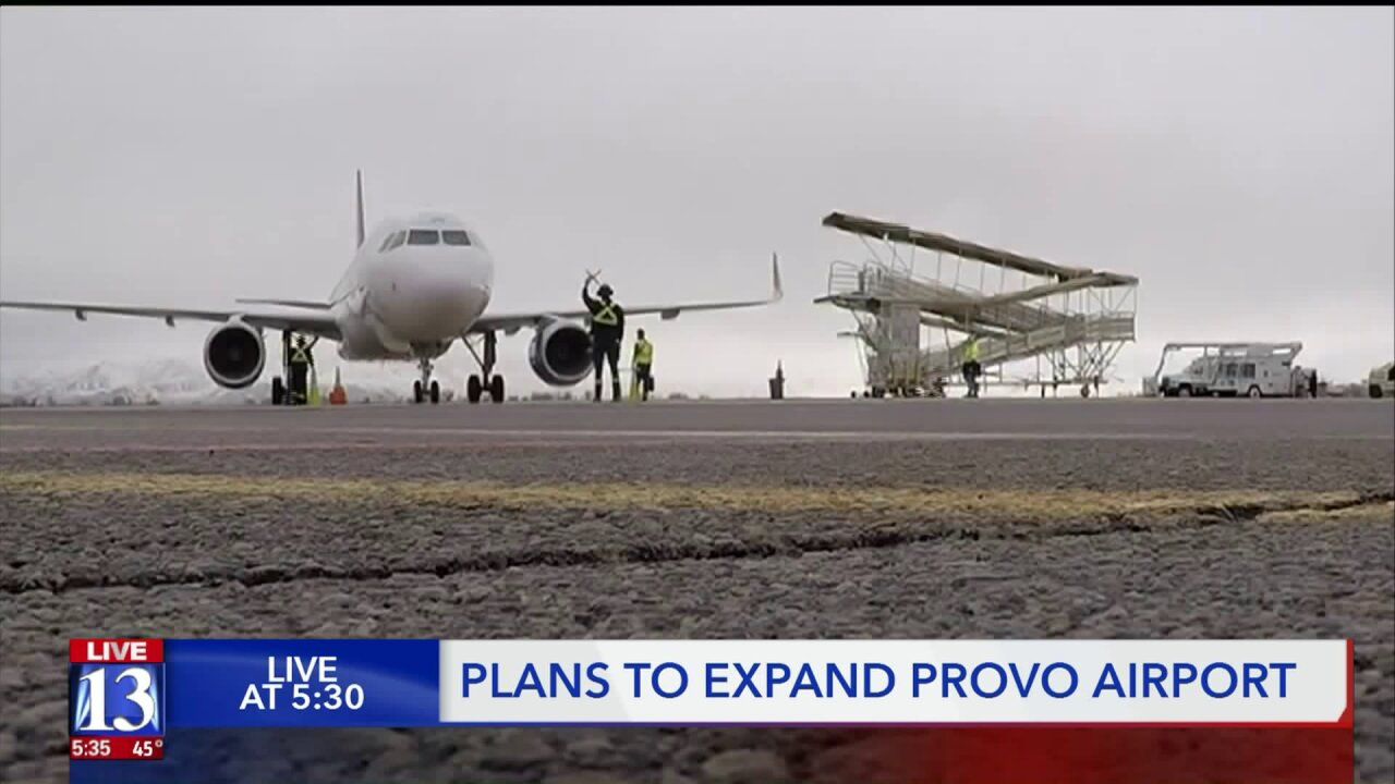 New expansion plans for the Provoairport