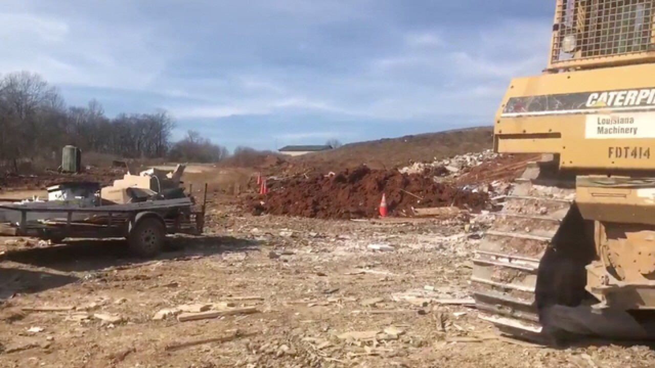 Rutherford County Landfill To Close As More Trash Comes In