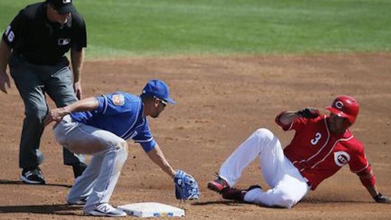 Pro baseball players trying to figure out proper slide into 2nd