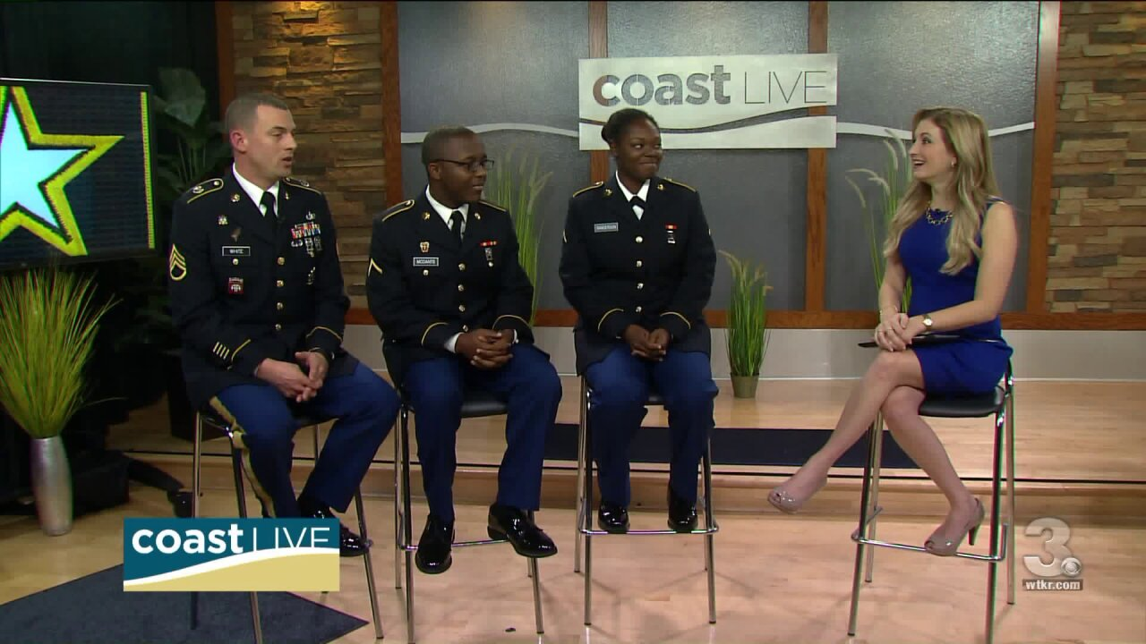 A look at Life in the U.S. Army on Coast Live