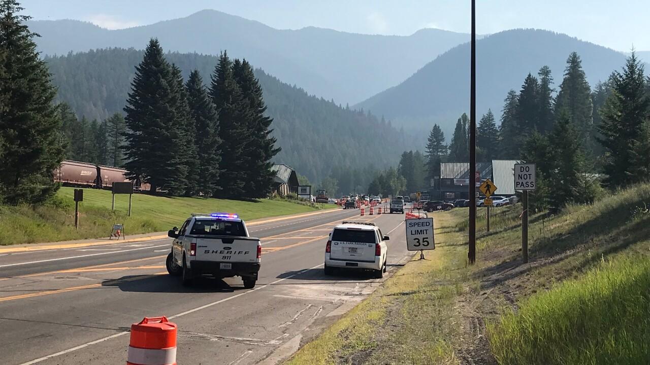 Highway 2 closure 715