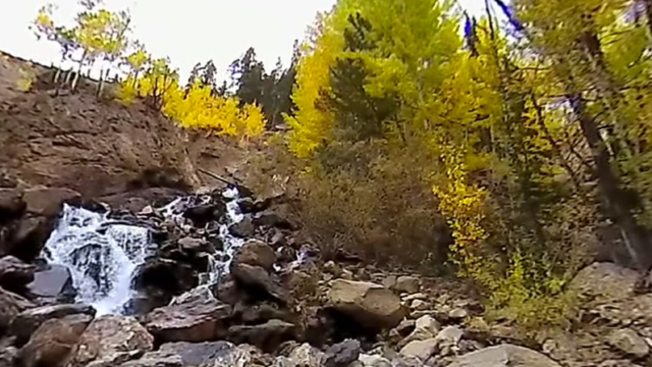 Rocky Mountains in the fall: See a 360-degree video view